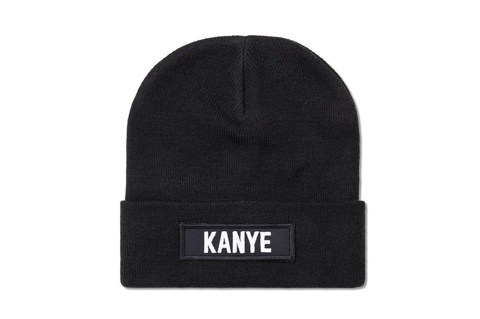Les (Art)ists Black Kanye Patch Beanie