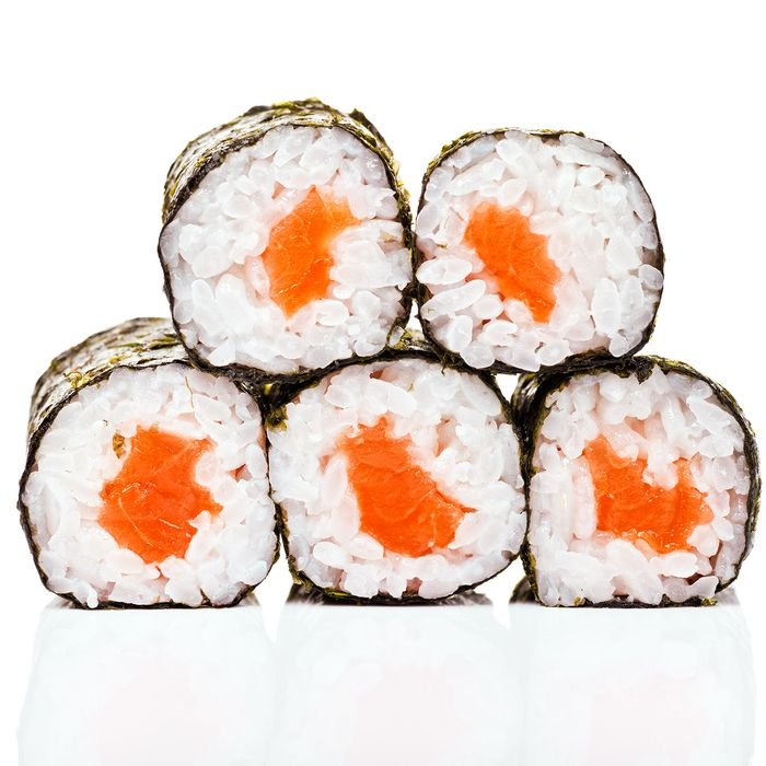 Say sayonara, affordable salmon roll.