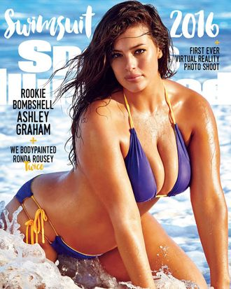 Ashley Graham, cover model.