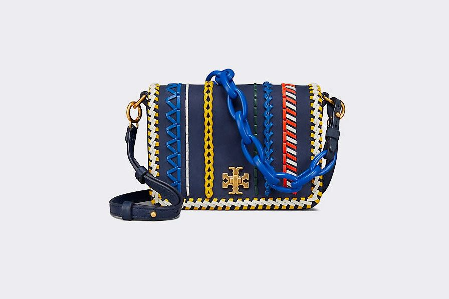 Kira Whipstitch Double-Strap Mini Bag
