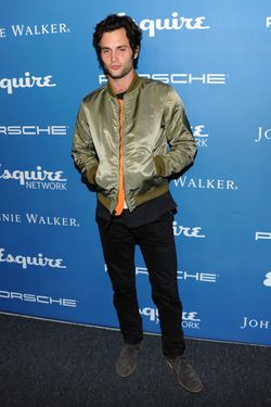 Actor Penn Badgley attends the Esquire 80th anniversary and Esquire Network launch celebration at Highline Stages on September 17, 2013 in New York City.