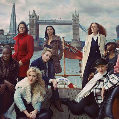 Grace Coddington for Marks & Spencer.