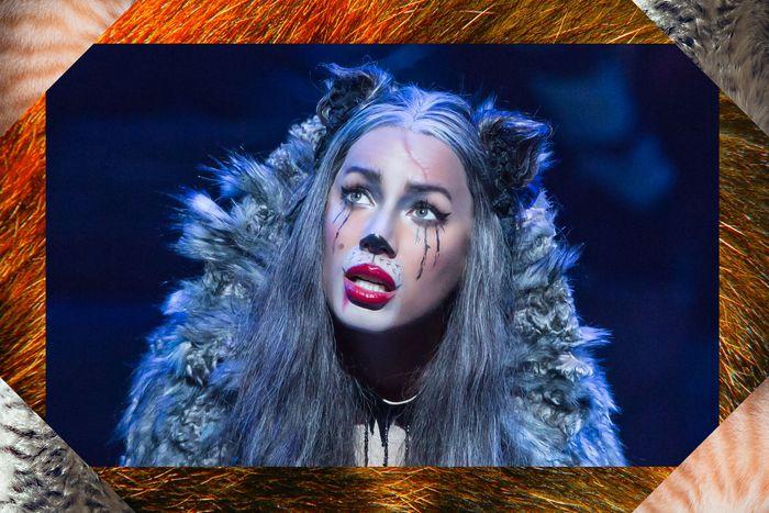 How To Do Cats Broadway Makeup