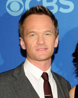 Neil Patrick Harris attends CBS 2013 Upfront Presentation at The Tent at Lincoln Center on May 15, 2013 in New York City.