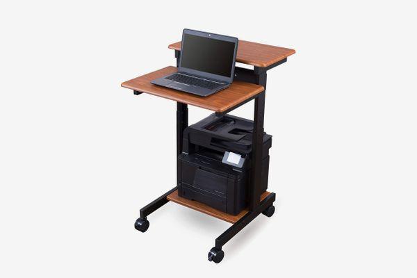 Stand Up Desk Store Mobile Ergonomic Stand up Desk Computer Workstation