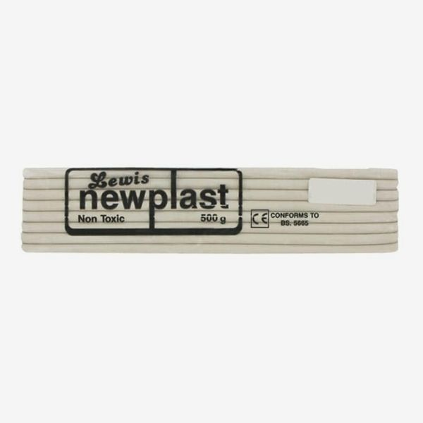Newplast White Modelling Clay