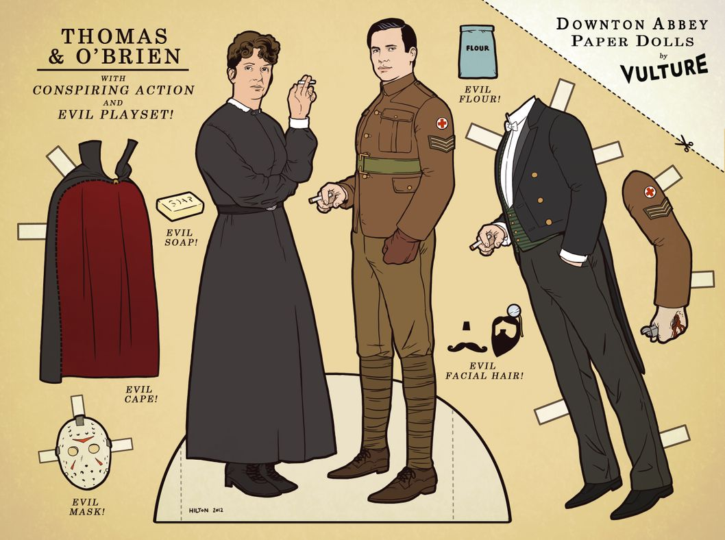 DA Paper Dolls - Thomas a O'Brien