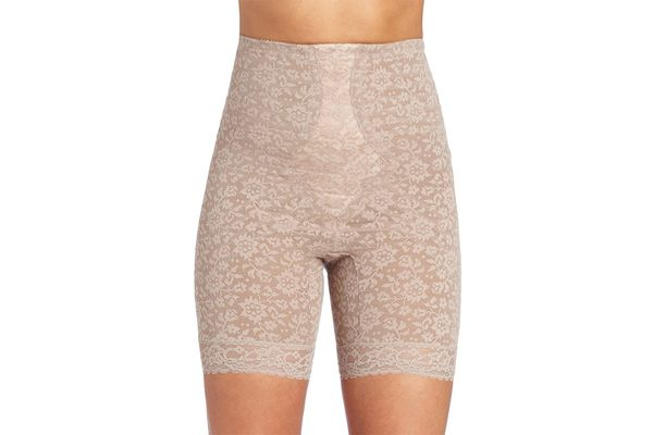 Womens Body Shaper Lace High Waist Trainer Girdle Tummy Control Underwear Shapewear Thigh Slimming Boyshort