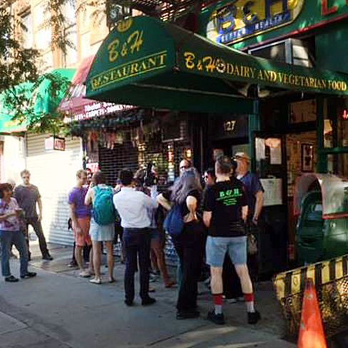 New Yorkers Are Turning Out in Droves to Support B&H's Reopening