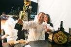 2013 Blue Moon Burger Bash: Josh Capon and Guy Fieri Tie for First Place