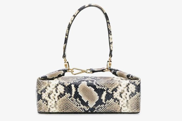 Rejina Pyo Olivia Snake-Effect Box Bag
