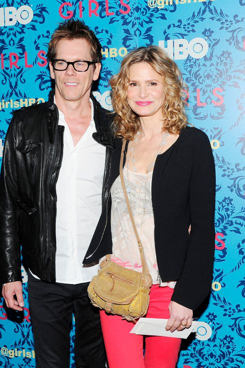 "Kevin Bacon, Kyra Sedgwick== HBO with The Cinema Society host the New York premiere of HBO's ""Girls""== SVA Theatre, NYC== April 4, 2012== ? Patrick McMullan== Photo - Nicholas Hunt / PatrickMcMullan.com== =="