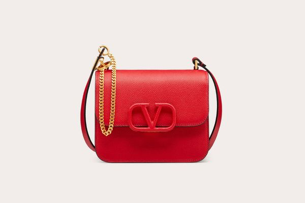 Valentino Garavani Small VSLING Calfskin Shoulder Bag
