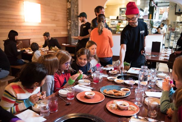 The Absolute Best Kid Friendly Restaurants In New Yorkwhen You Need A Nice Dinner And Don T Want To Spring For Babysitter These Are Five