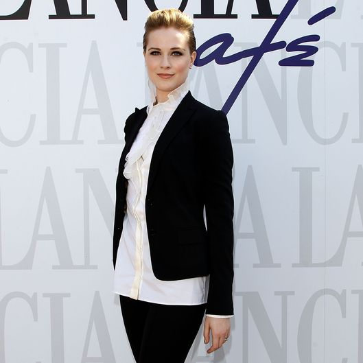 VENICE, ITALY - AUGUST 31:  Evan Rachel Wood attends the 68th Venice film festival at Lancia Cafe on August 31, 2011 in Venice, Italy.  (Photo by Tullio M. Puglia/Getty Images for Lancia)
