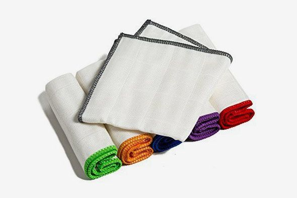 Bondre 100 Percent Bamboo Kitchen Dish Cloths