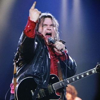 Meat Loaf Performs At Wembley Arena In 1982