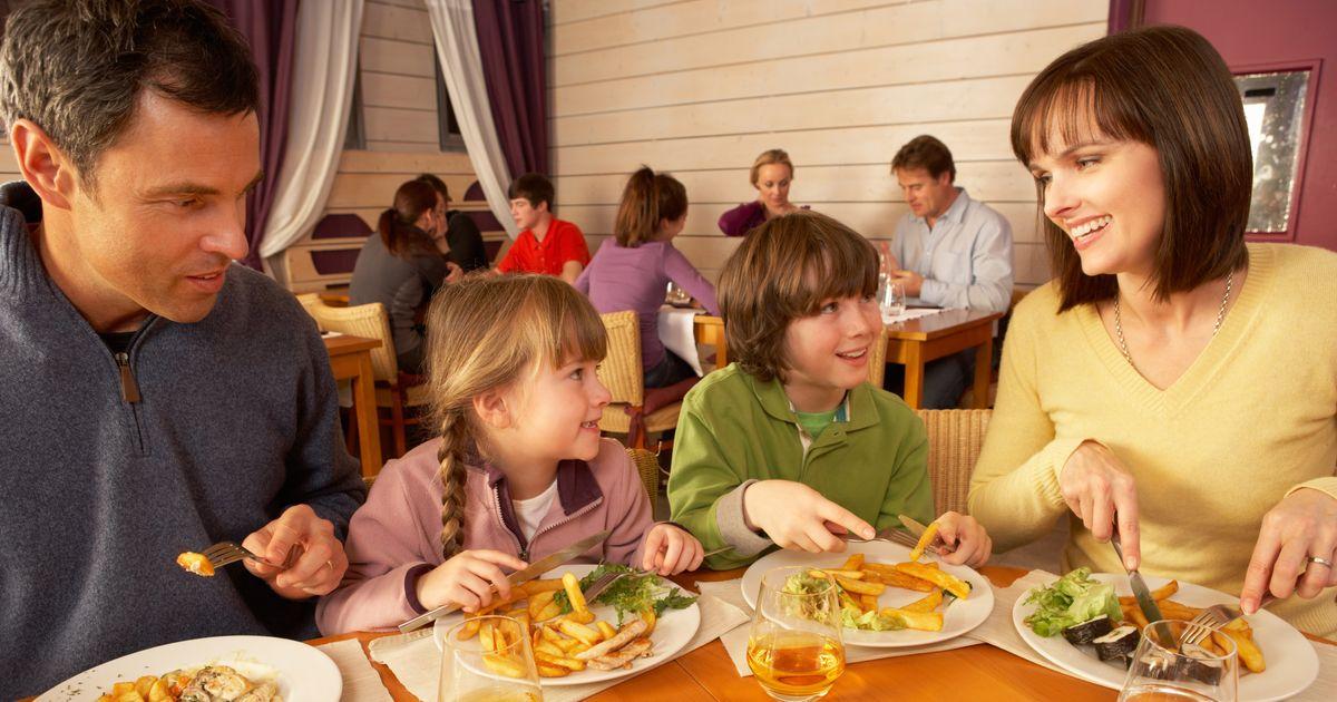 A restaurant shamed a family on facebook who forgot to for Kids restaurants