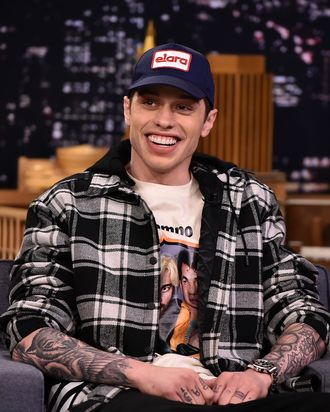 Pete Davidson Got A Tattoo Of His And Ariana Grandes Pig