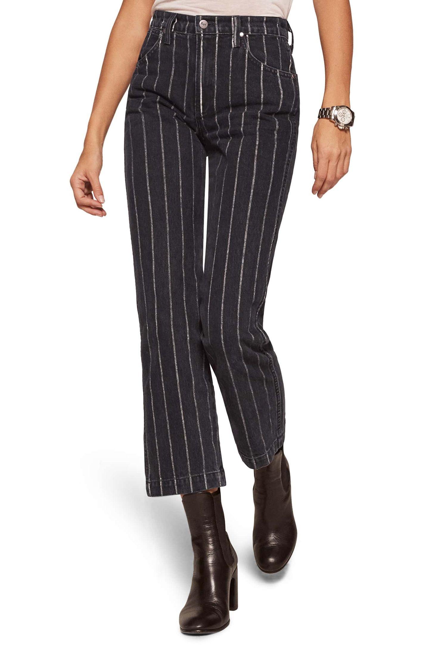 Reformation Crop Straight Leg Jeans