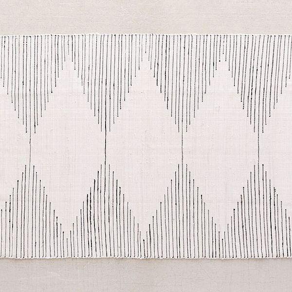 Connected Stripe Rag Rug