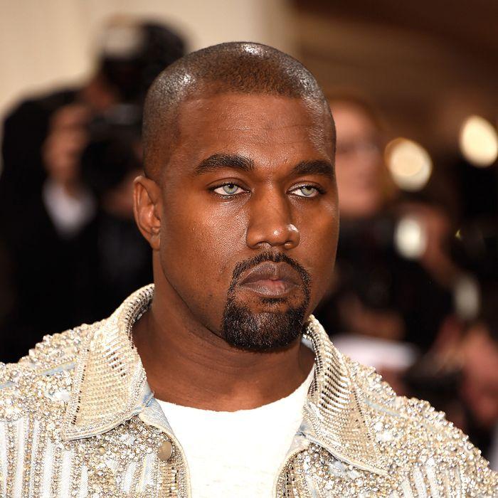 Kanye West at the Met Gala