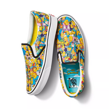 The Simpsons x Vans Comfycush Slip-on - Springfield