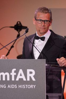 NEW YORK, NY - JUNE 10:  HBO President of Programming Michael Lombardo speaks onstage at the amfAR Inspiration Gala New York 2014 at The Plaza Hotel on June 10, 2014 in New York City.  (Photo by Stephen Lovekin/Getty Images)