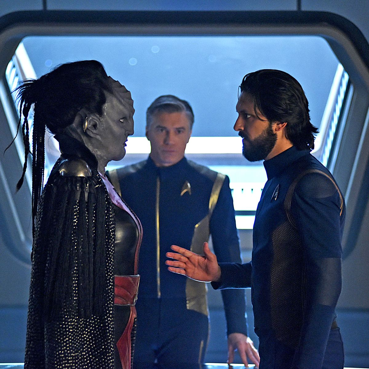 Star Trek Borg Construct Adult Work Shirt