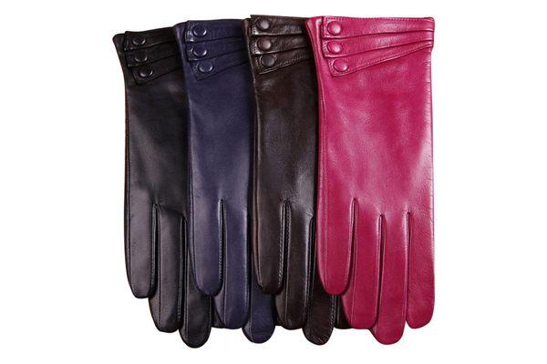 Warmen Women's Leather Gloves