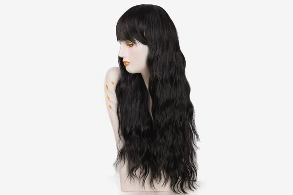 netgo Long Fluffy Curly Wavy Hair Wig