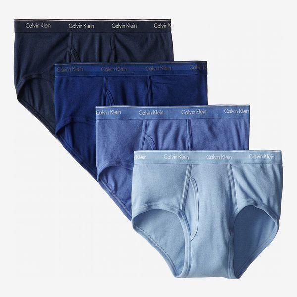 Calvin Klein Classic Cotton Briefs (Pack of 4)