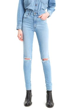 Levi's Women's Mile High Rise Super Skinny Jeans
