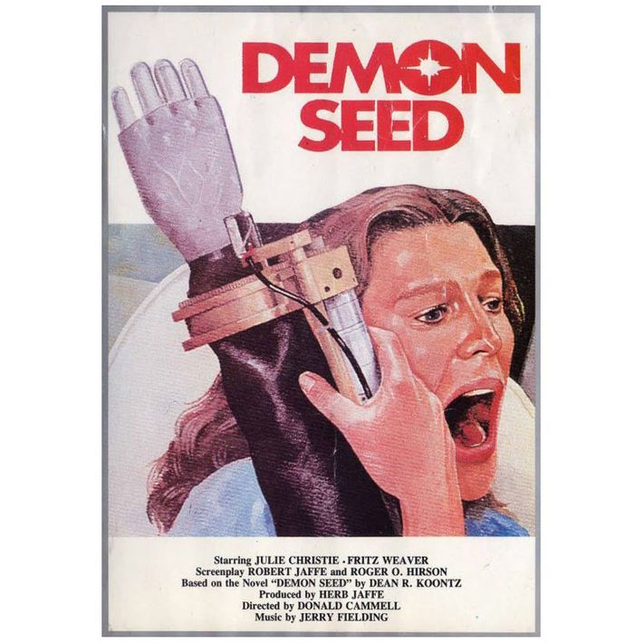 "A poster for ""Demon Seed."""