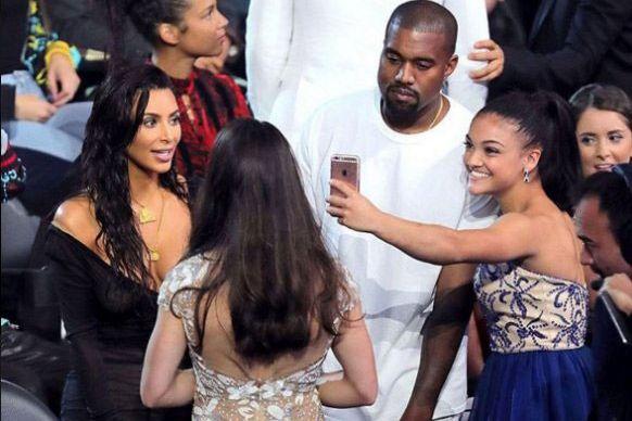 Kim Kardashian, KANYE stop showing off your nipples?