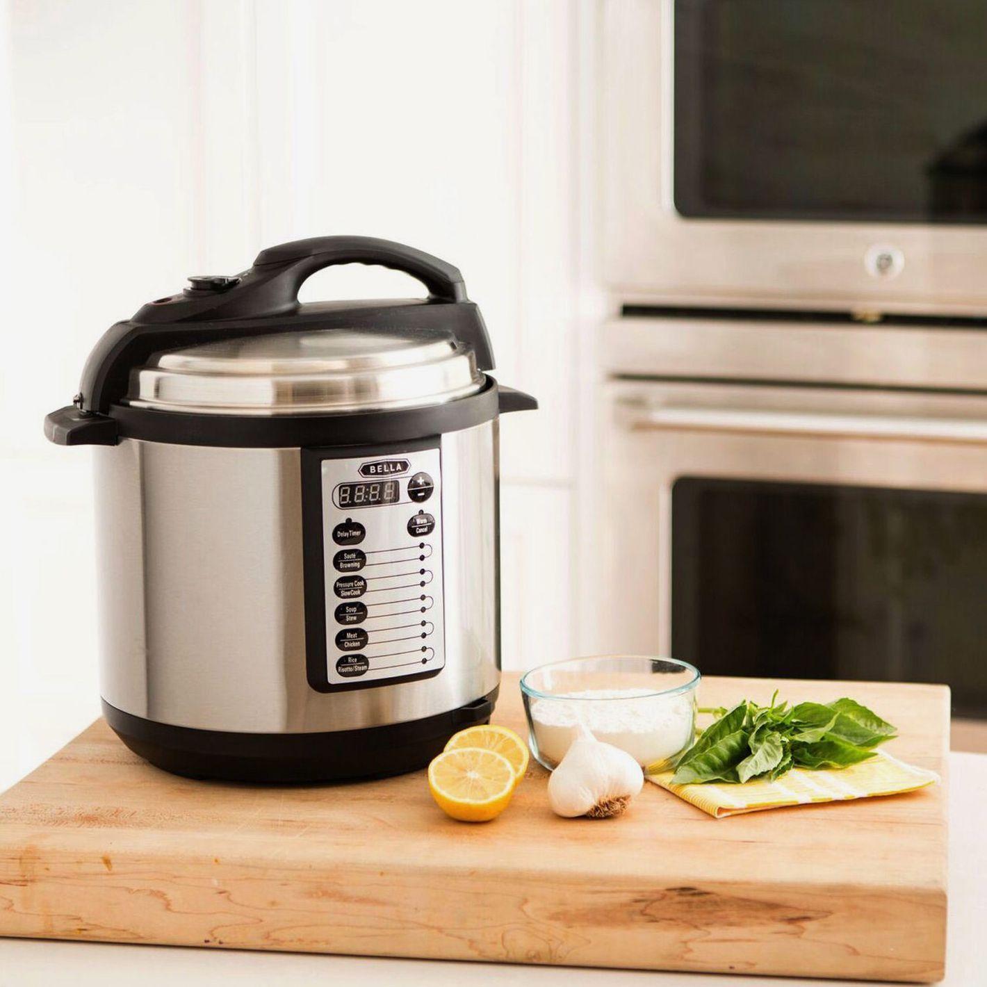 Bella 6 Qt 10-In-1 Multi-Use Programmable Pressure Cooker