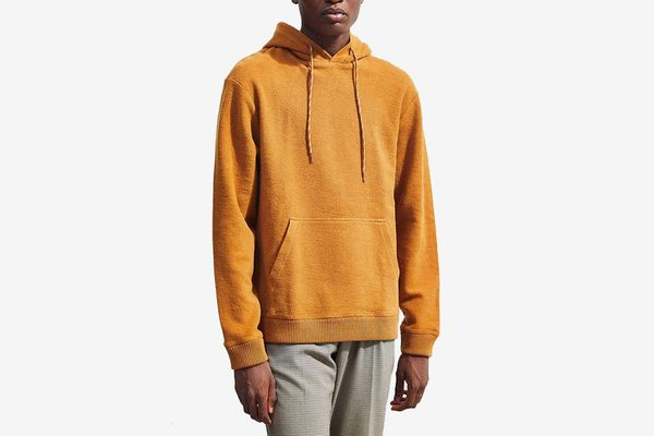 UO Heavy Weight Inside Out Hoodie Sweatshirt