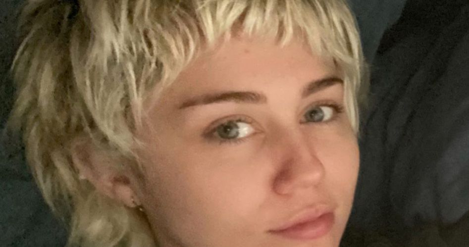 Miley Cyrus Mom Gave Her A Home Haircut In Isolation