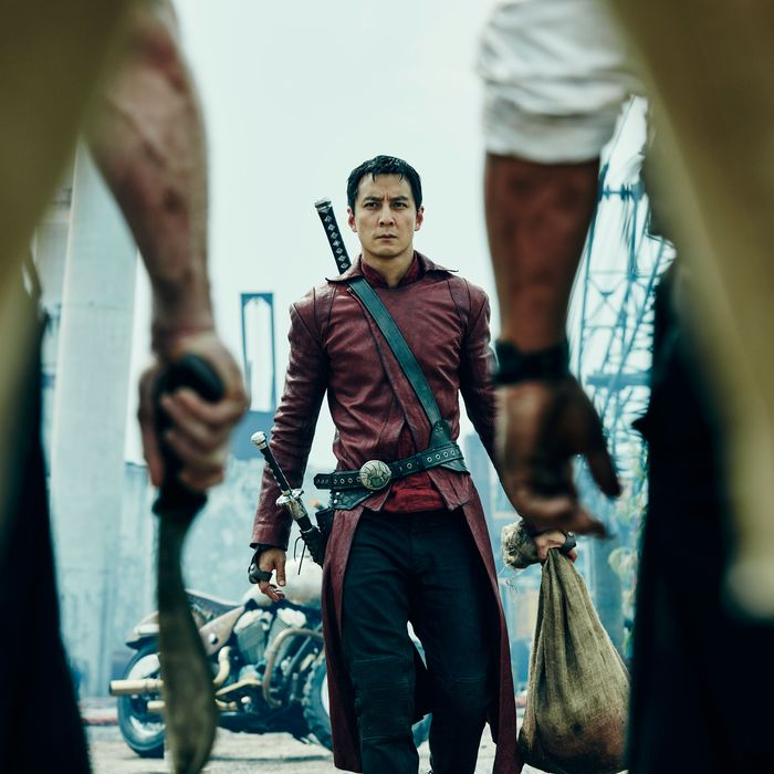 Daniel Wu as Sunny - Into the Badlands _ Season 1, Episode 4 - Photo Credit: James Minchin III/AMC