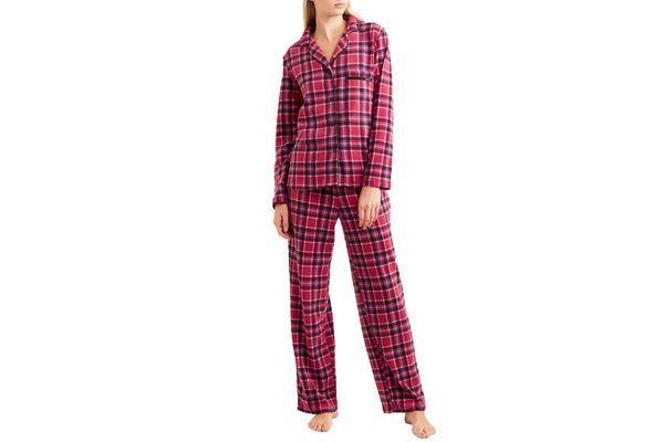 DKNY Fierce Chills Plaid Pajama Set