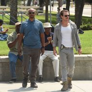 "LETHAL WEAPON: Pictured L-R: Damon Wayans and Clayne Crawford in the ""There Goes Neighborhood"" episode of LETHAL WEAPON airing Wednesday, Oct. 12 (8:00-9:00 PM ET/PT) on FOX. ©2016 Fox Broadcasting Co. CR: Ray Mickhaw/FOX"