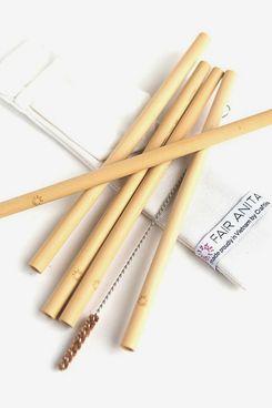 Fair Anita Sustainable Bamboo Straw Set