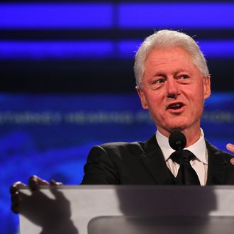 ST. PAUL, MN - JULY 24: Former President Bill Clinton attends the Starkey Hearing Foundation's