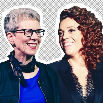 Terry Gross, Michelle Wolf.