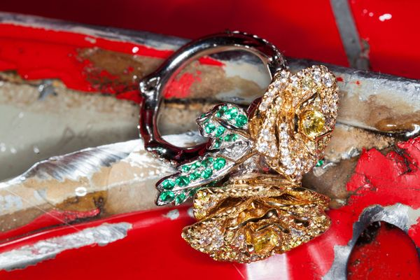 Decadent Jewels in the Midst of Destruction