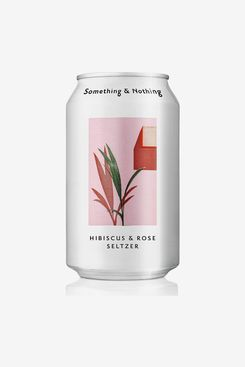Something & Nothing Hibiscus and Rose Seltzer