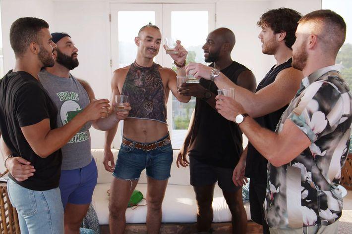 39 fire island 39 series premiere recap the boys of summer