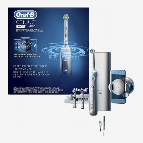 Oral-B 8000 Electronic Power Rechargeable Battery Electric Toothbrush with Bluetooth Connectivity