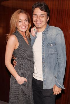 Lindsay Lohan and Egor Tarabasov.