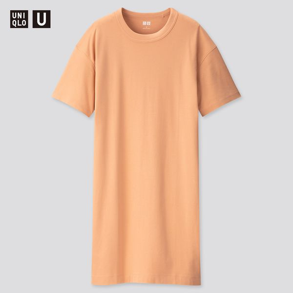 Uniqlo Women U Crew Neck Short-Sleeve T-Shirt Dress